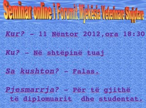 Seminari i pare online