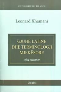 gjuhe latine dhe terminologji mjekesore