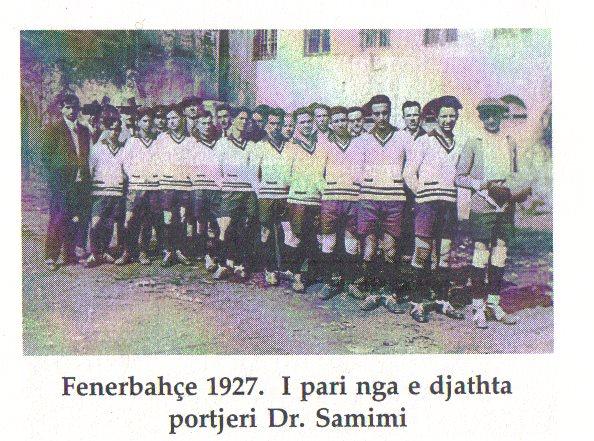 Dr.Samimi Portier i skuadres Fenerbahce( i pari me kapele)